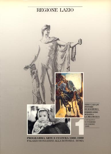 Copertina catalogo della mostra del 1988 a Roma - Regione Lazio